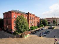 Łukowa- Strasse, die Gerichtsgebäude